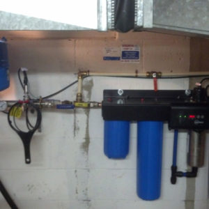 Water treatment Constant Pressure System with Ultra Violet Disinfection 1