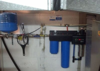 Water treatment Constant Pressure System with Ultra Violet Disinfection