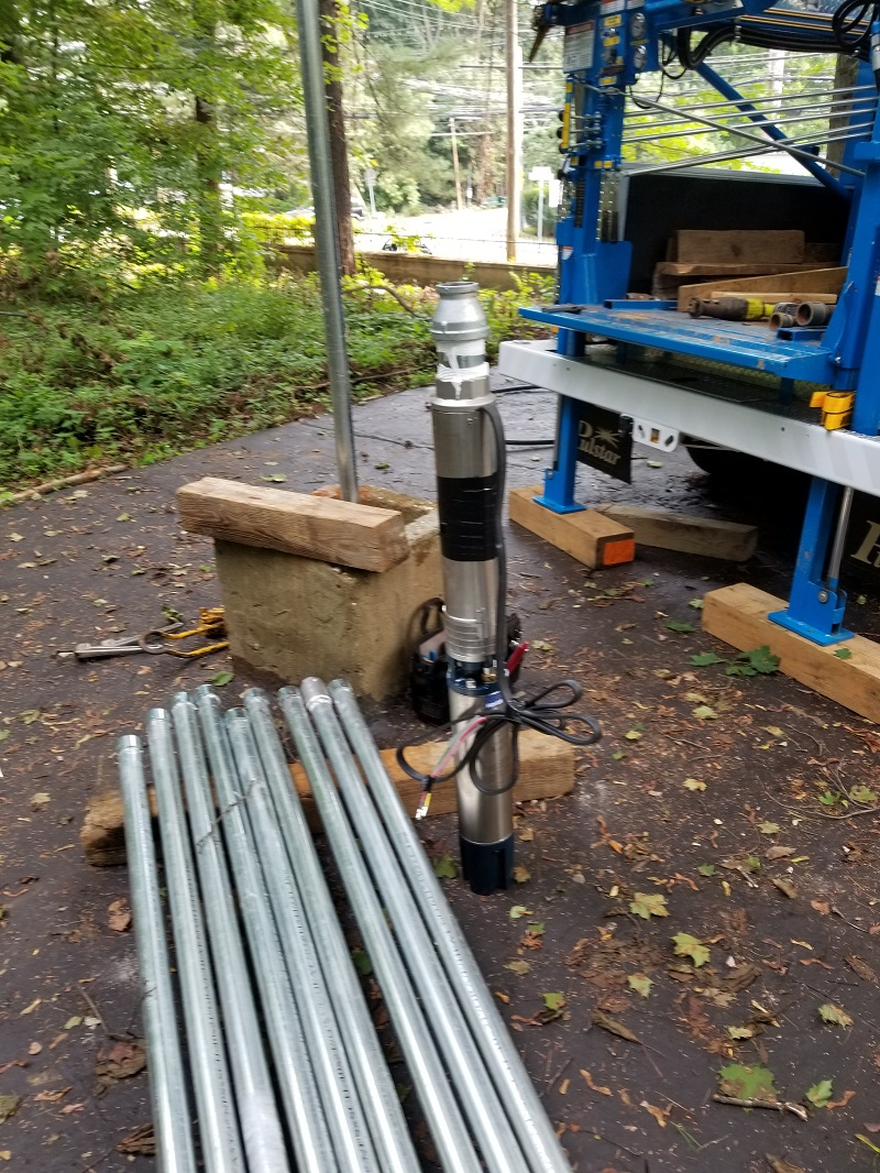 Local University HiCapacity Submersible Pump